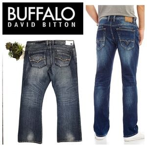 Buffalo David Bitton King Slim Boot Jean 40x32